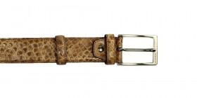 Brown Baby Croco - Belt