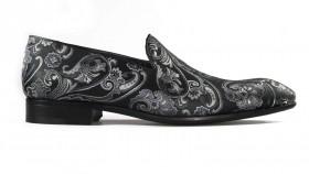 Paisley Black Loafer