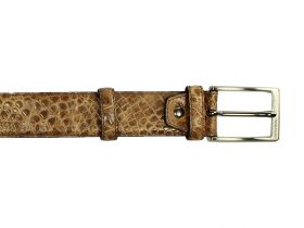 Brown Baby Croco - Belt