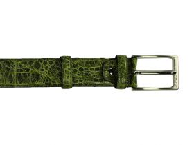 Green Baby Croco - Belt