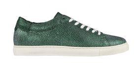 Metallic Moss Sneaker