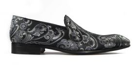 Paisley Black Loafer