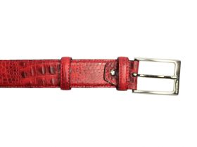 Red Baby Croco - Belt