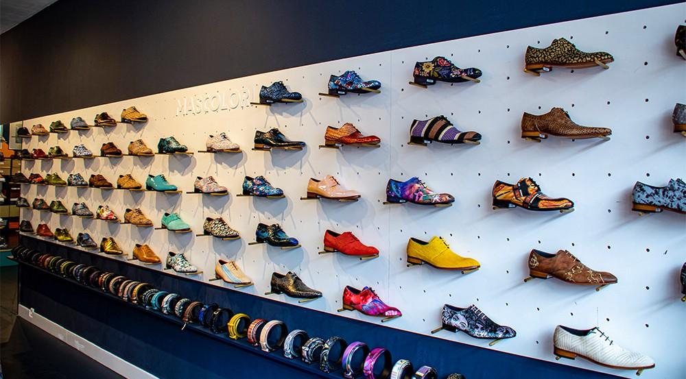 schoenenwand winkel rotterdam