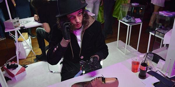 Mascolori, Kunstenaarsbal, creatief, Rotterdam, Mascolori, schoenen, herenschoenen
